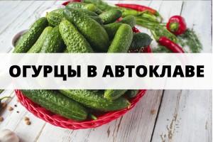 Рецепт маринованных огурцов в автоклаве
