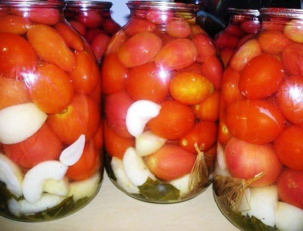 Помидоры с яблоками на зиму рецепты с фото