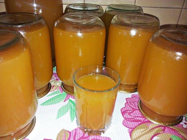 Сок из моркови и яблок в домашних условиях на зиму
